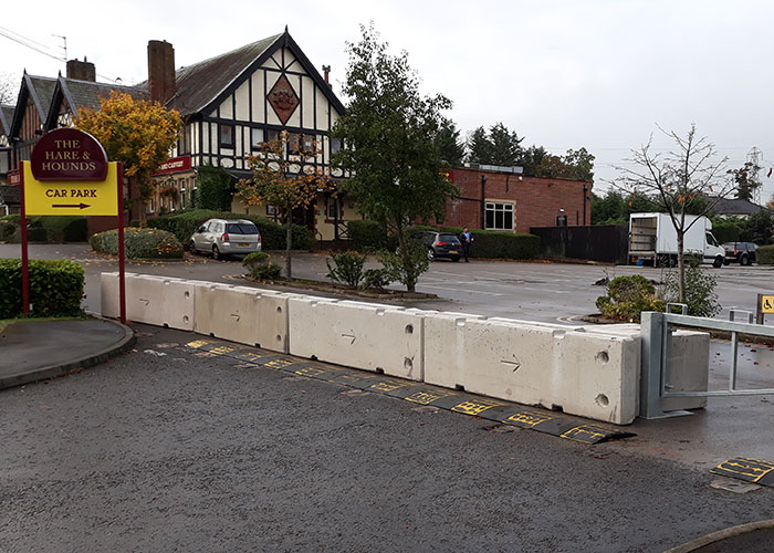 The Practical Uses Of Concrete Barriers