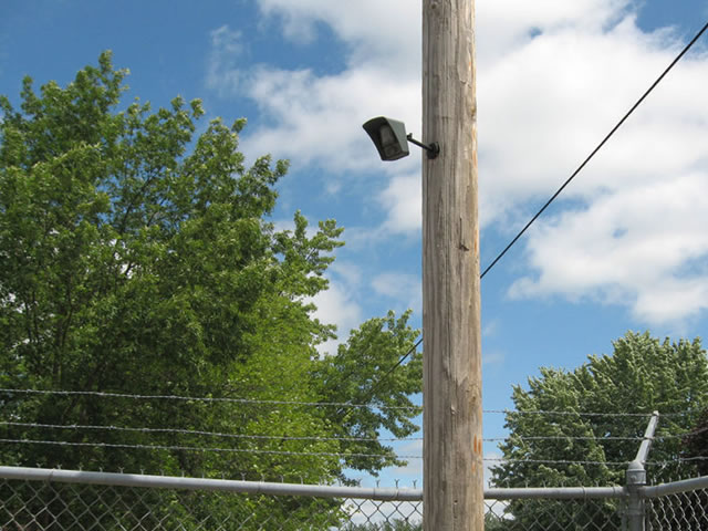 ProBlock Verified Video Camera On Pole