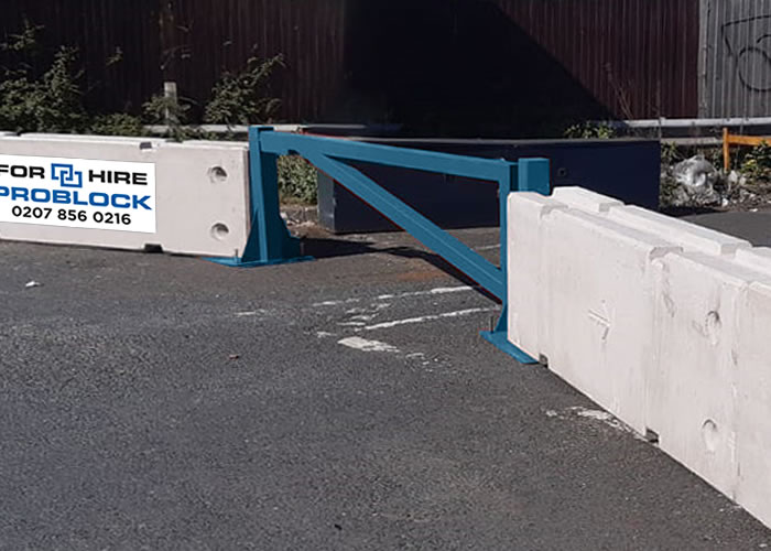 ProBlock Concrete Barrier Gates